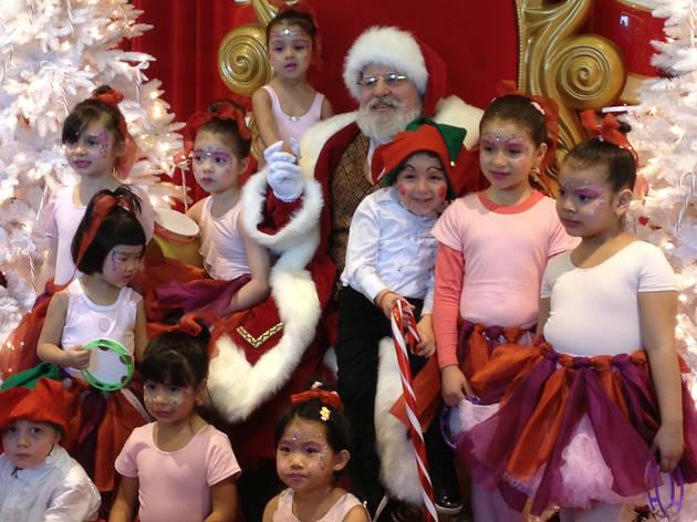 Santa at the Sky View Center