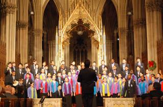 A City Singing at Christmas