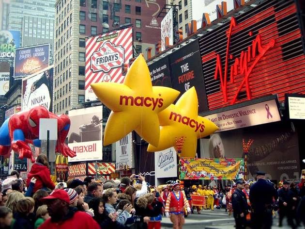 See Macy's Thanksgiving Day Parade