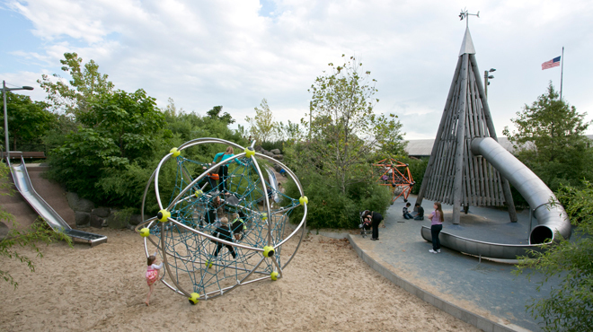 25 best playgrounds in New York City