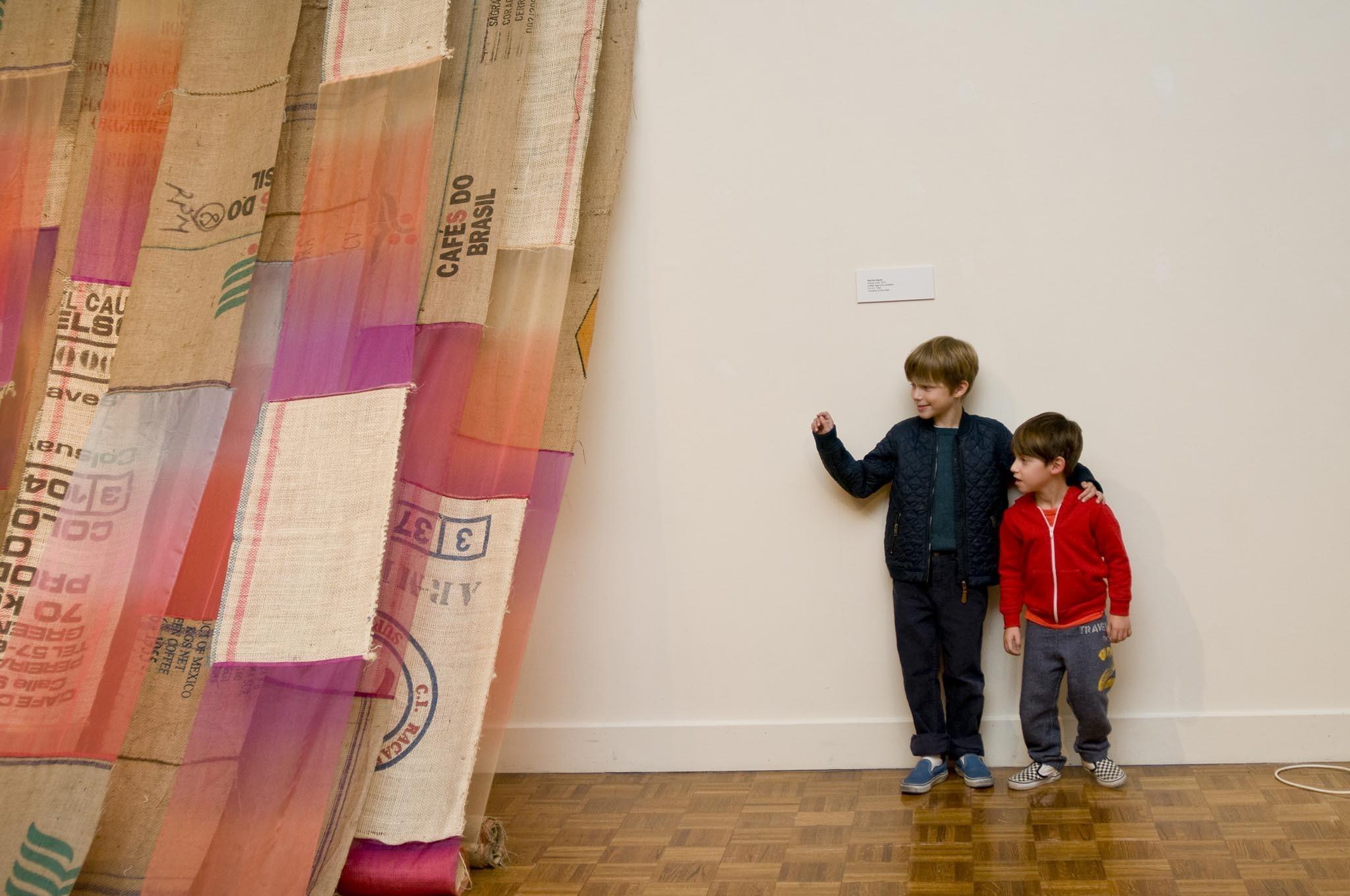 Join a Lehman College Art Gallery Family Art Workshop