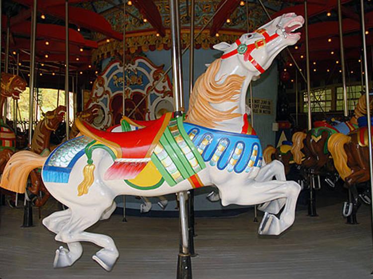 Friedsam Memorial Carousel