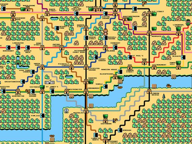 22 alternative tube maps