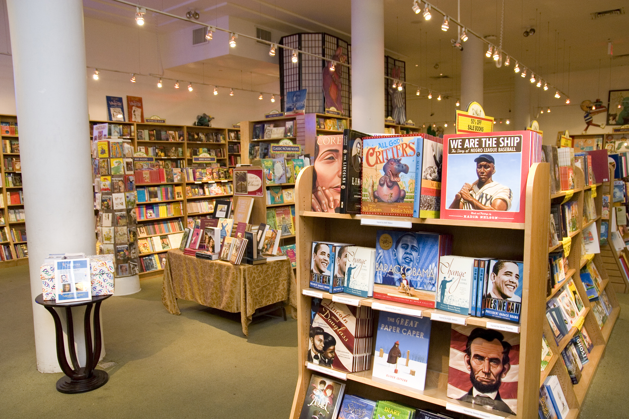 Best indie bookstores in NYC for families
