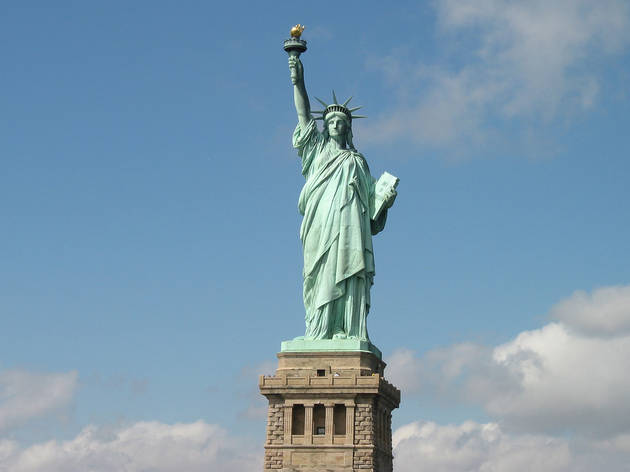 Best way to teach kids a little patriotism: Statue of Liberty