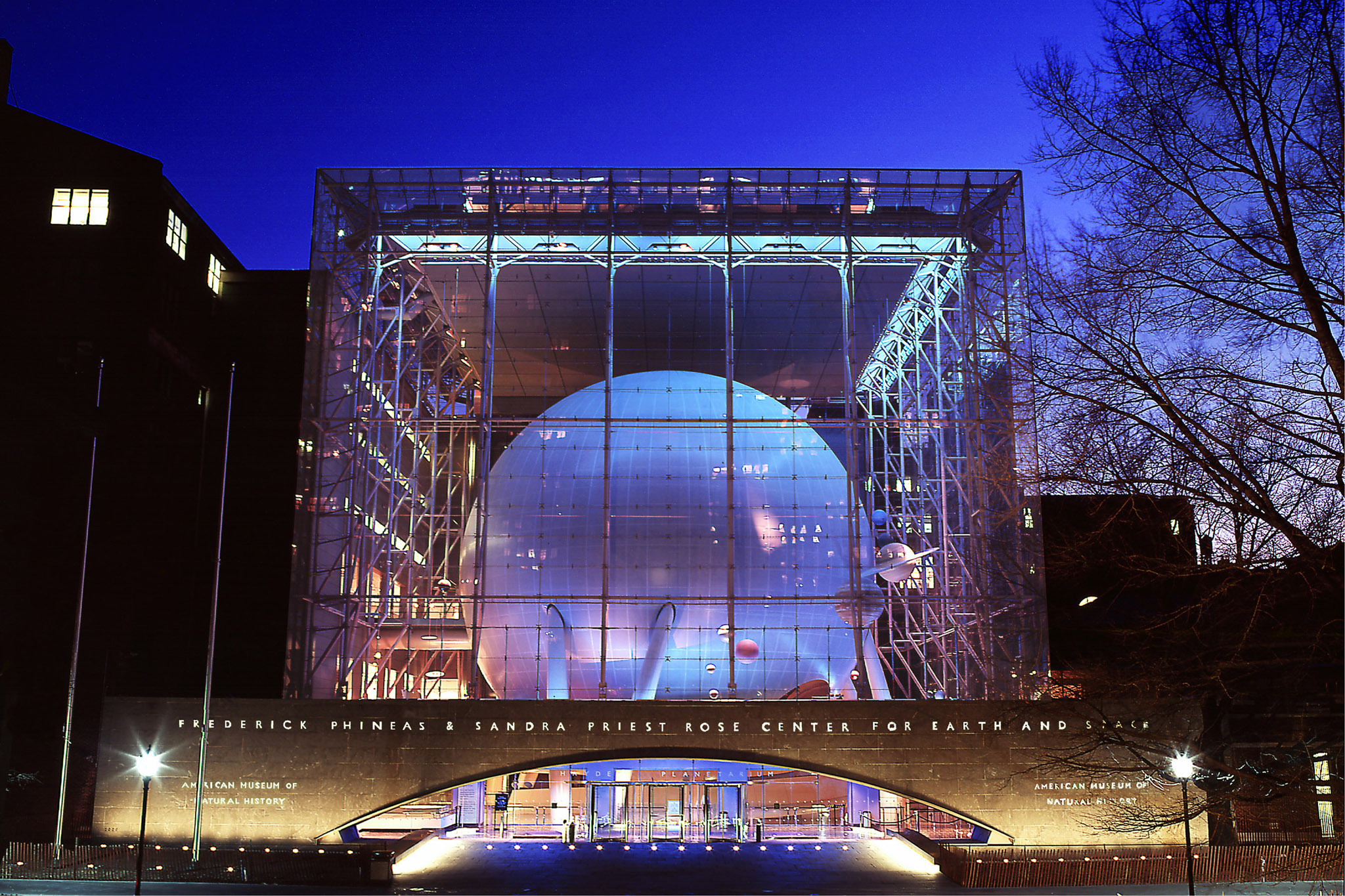 "American Museum of Natural History, ""Rose Center for Earth and Space"""