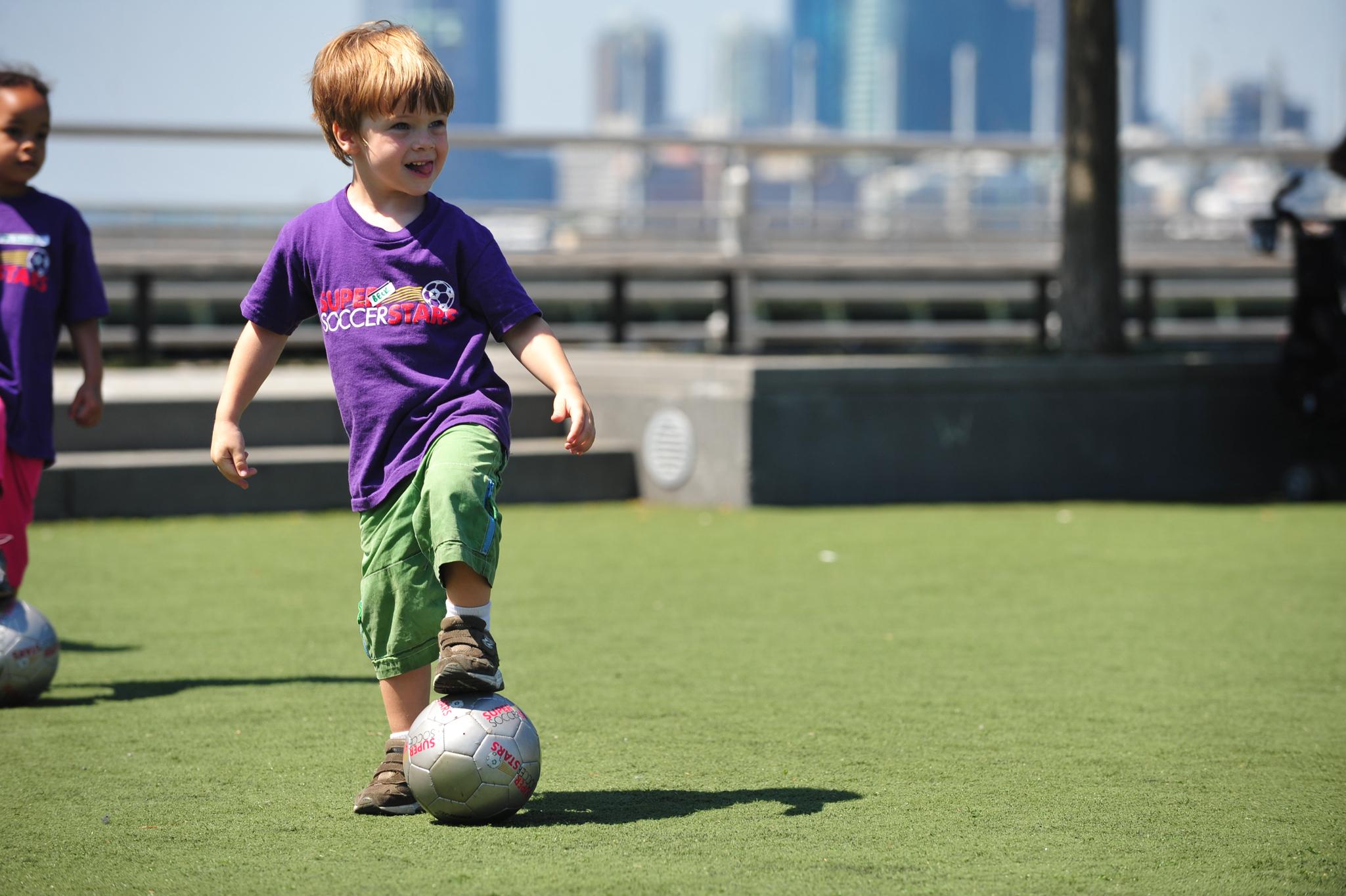 Super Soccer Stars Kick It! Day Camp