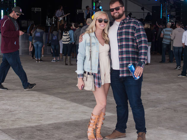 There were plenty of cowboy boots and patriotic outfits on display at the LakeShake Festival on Northerly Island, June 19–21, 2015.