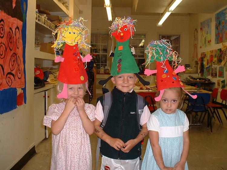 Kids at Art Classes