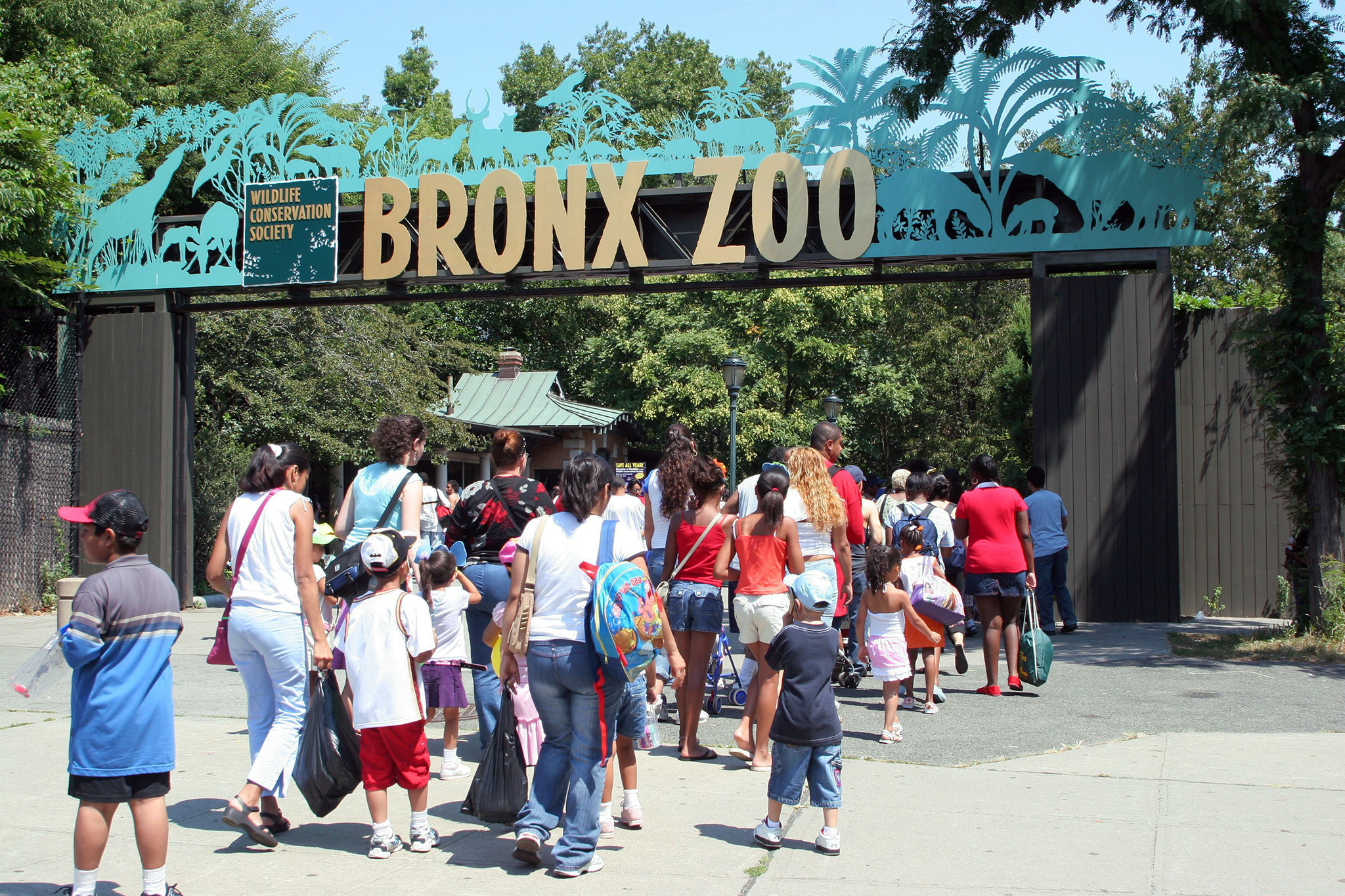 Best family attraction: Bronx Zoo