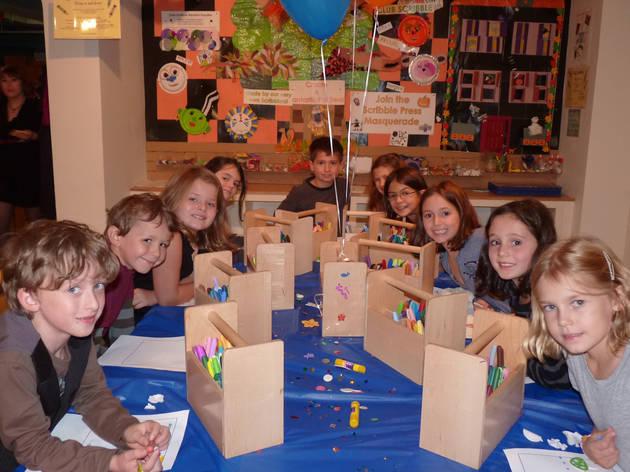 Scribble Press Birthday Parties (CLOSED)