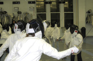 (Photograph: Courtesy Manhattan Fencing Center)