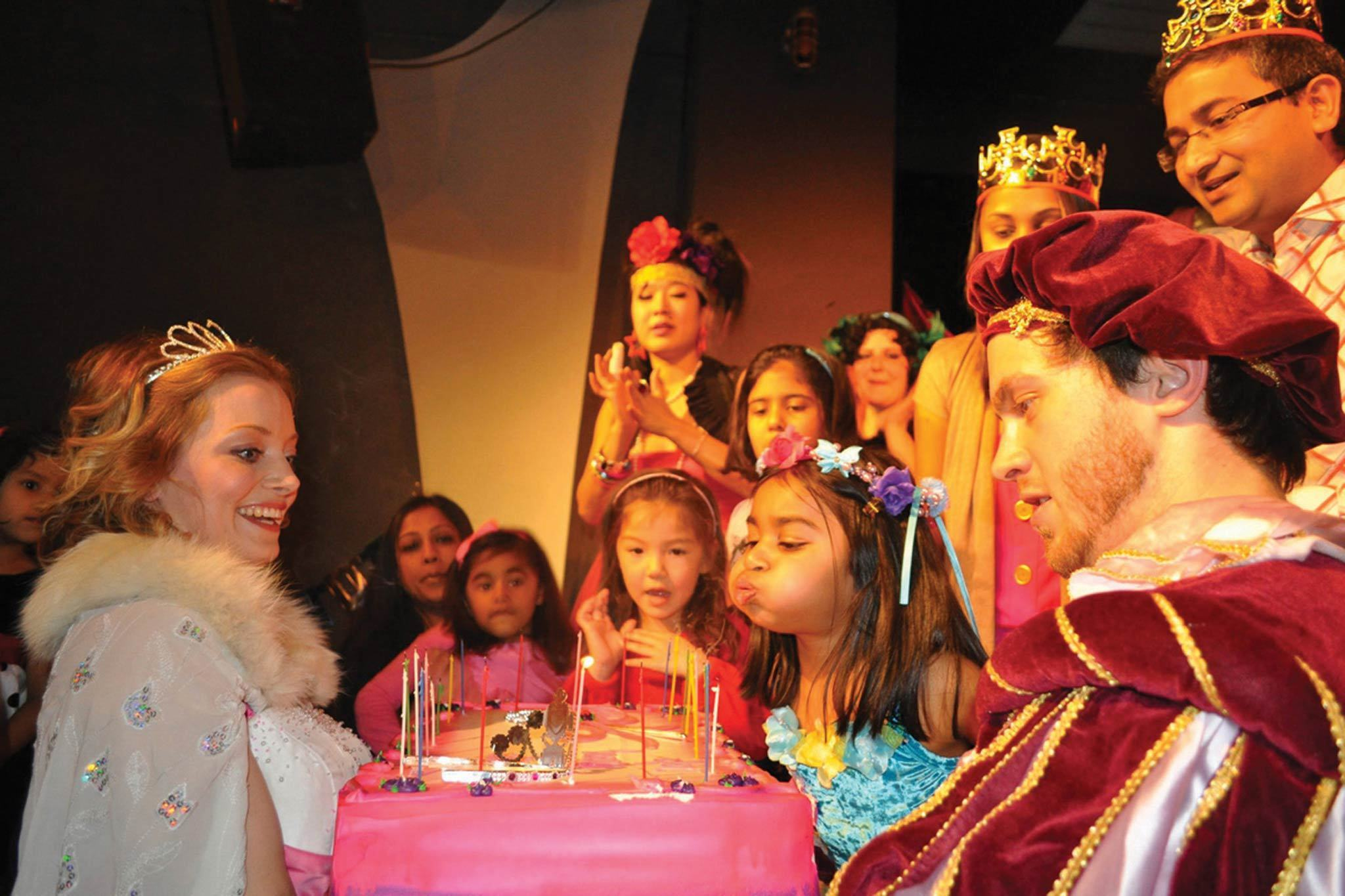 Galli's Fairytale Theater Birthday Parties