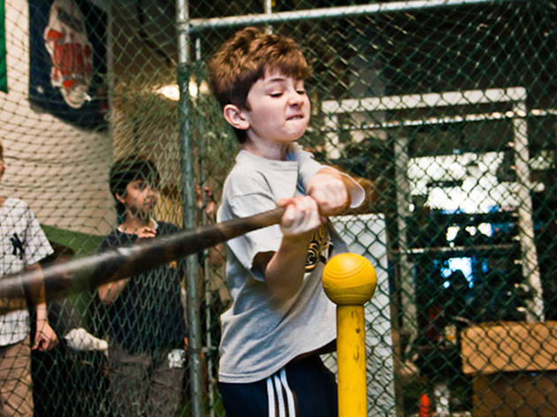 The Baseball Center of NY Birthday Parties