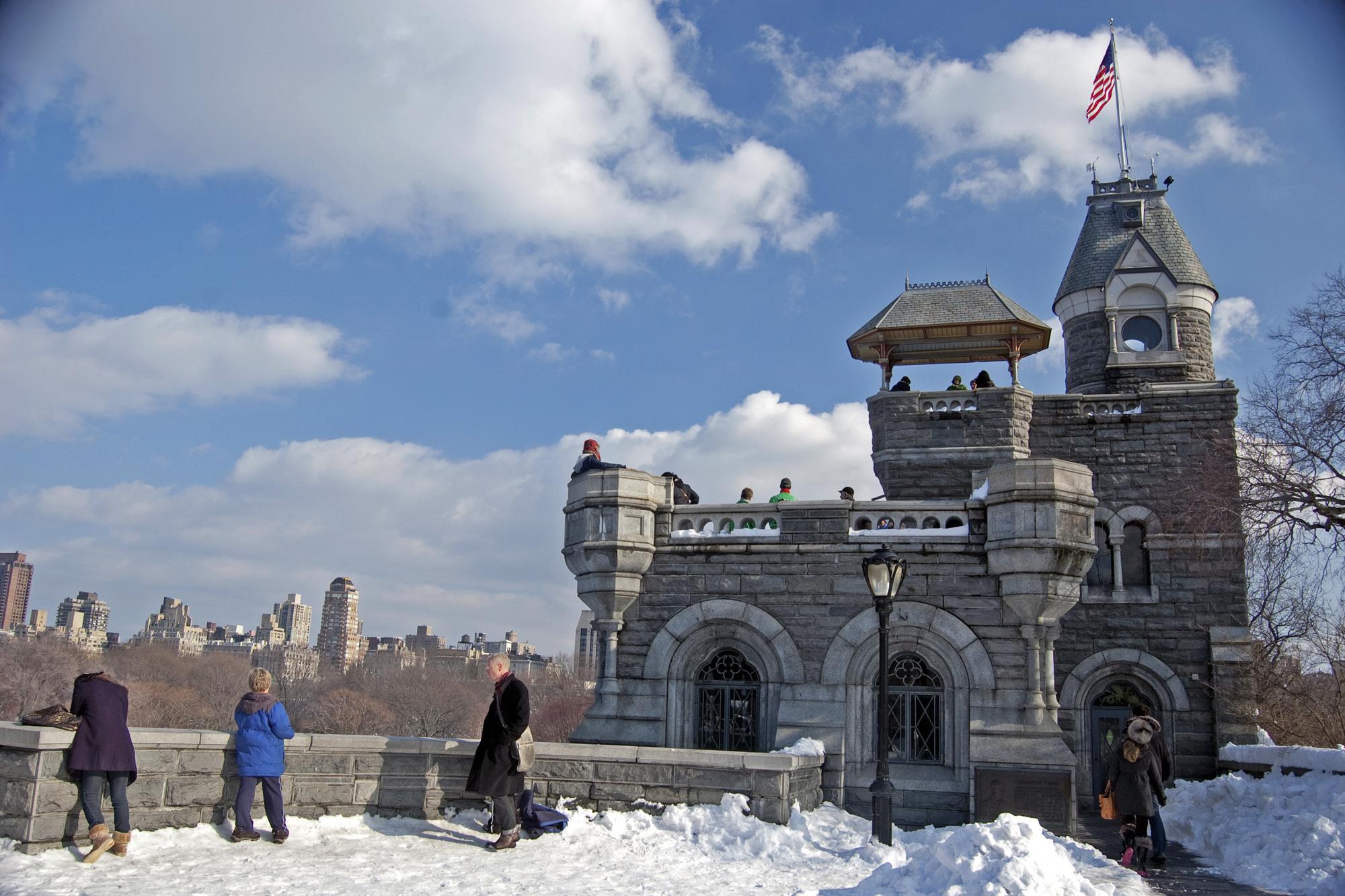 Central Park Conservancy Ice Festival