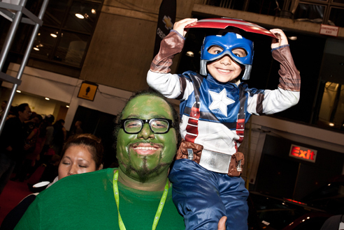 Geek out at New York Comic Con