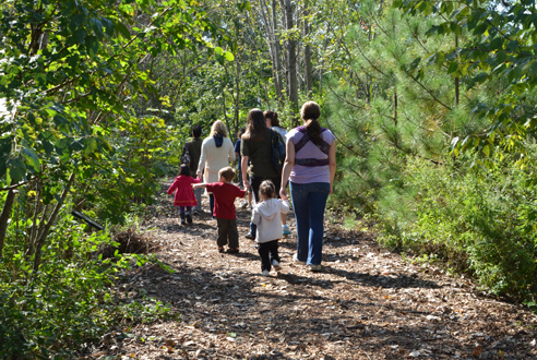 Learn about nature at Alley Pond Environmental Center