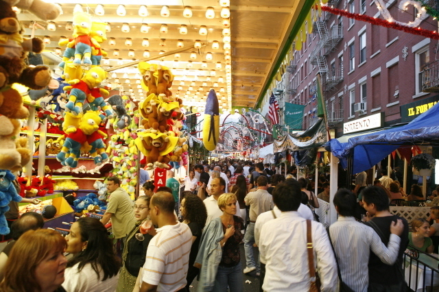 Pig out at the Feast of San Gennaro