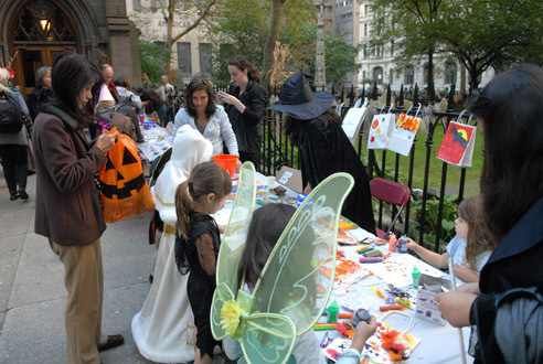 Halloween at Trinity Church