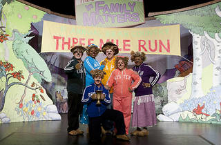 The Berenstain Bears Live in Family Matters the Musical