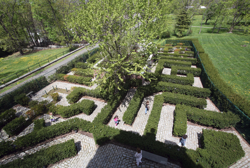 The Botanical Gardens at Snug Harbor Cultural Center's Connie Gretz Secret Garden