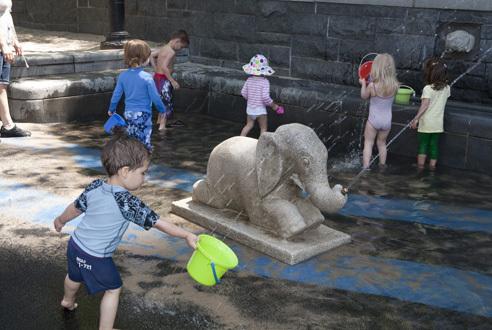 Rockefeller Park Playground