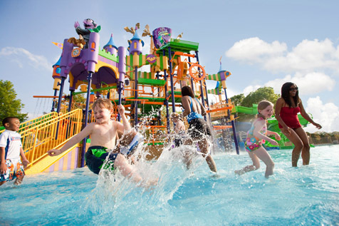Sesame Place- Count's Splash Castle