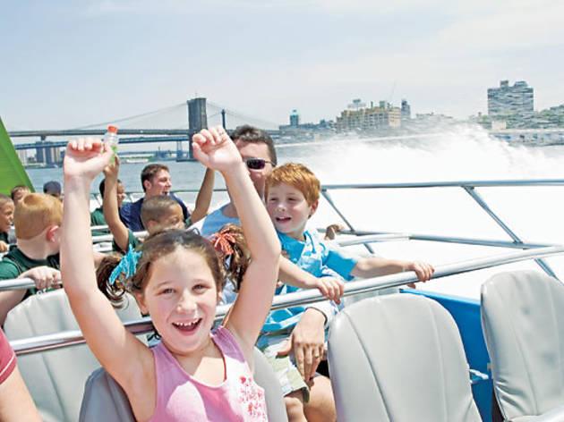 The Shark Speed Boat Thrill Ride