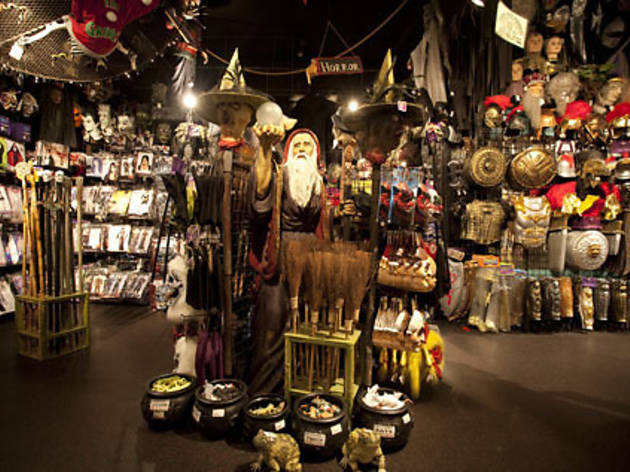 Costume shops for NYC kids