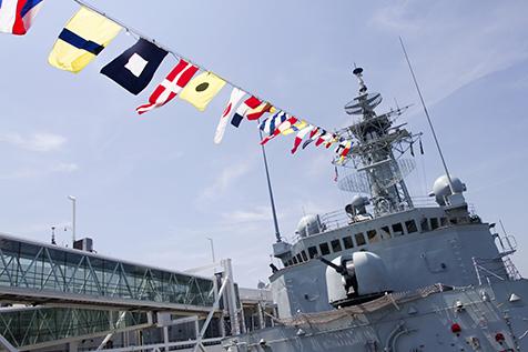 HMCS Athabaskan at Pier 88N