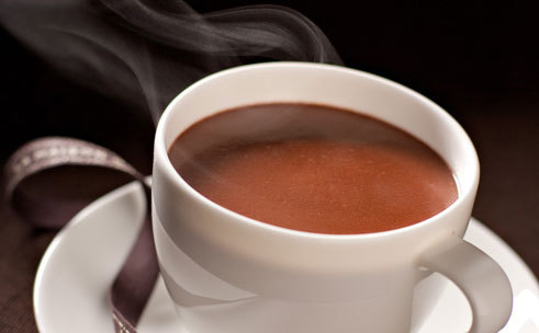 Sip on delicious hot chocolate