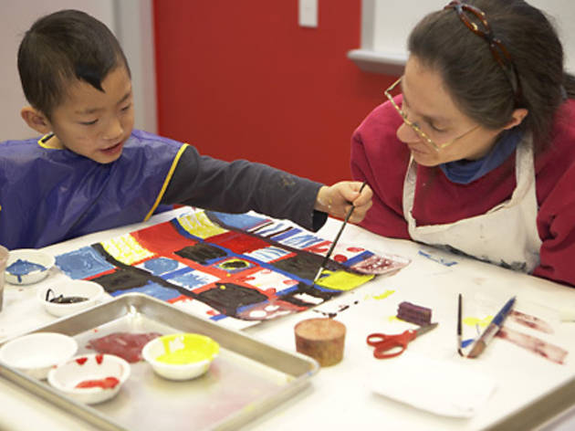 Family Art Workshop: Look and Listen