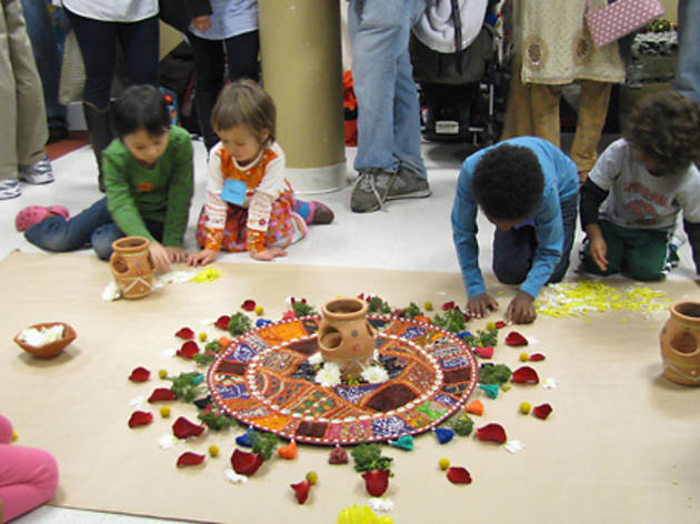 Collaborative Sand Mandala