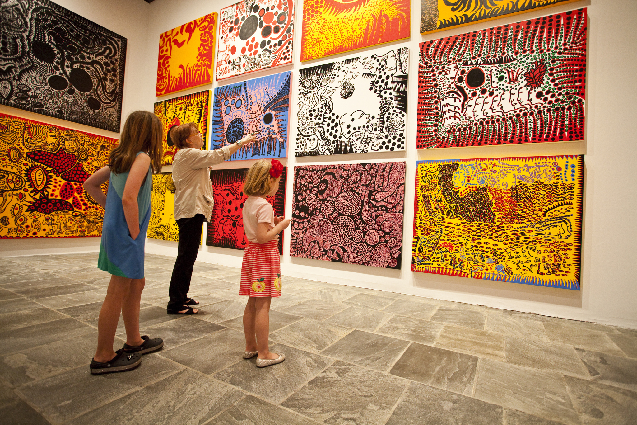 Take tots on a family tour at The Whitney
