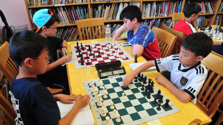 Photograph: NY Chess Kids