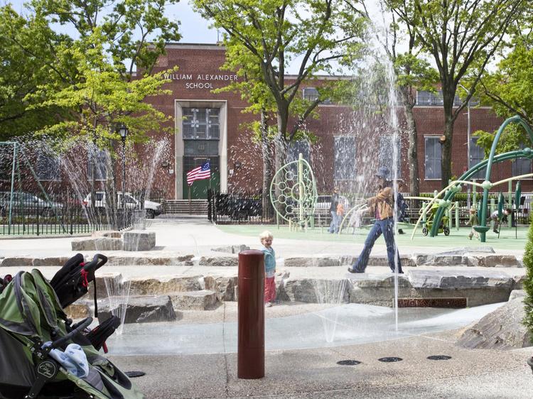 J.J. Byrne Playground, Washington Park