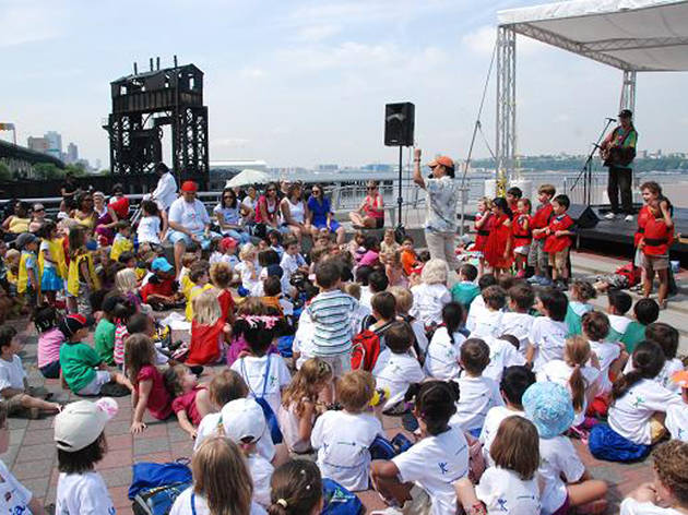 Free summer concerts for kids in NYC