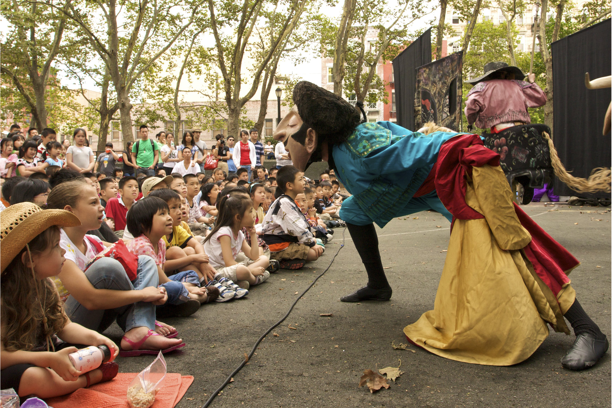 Free outdoor concert series for NYC families in summer 2013