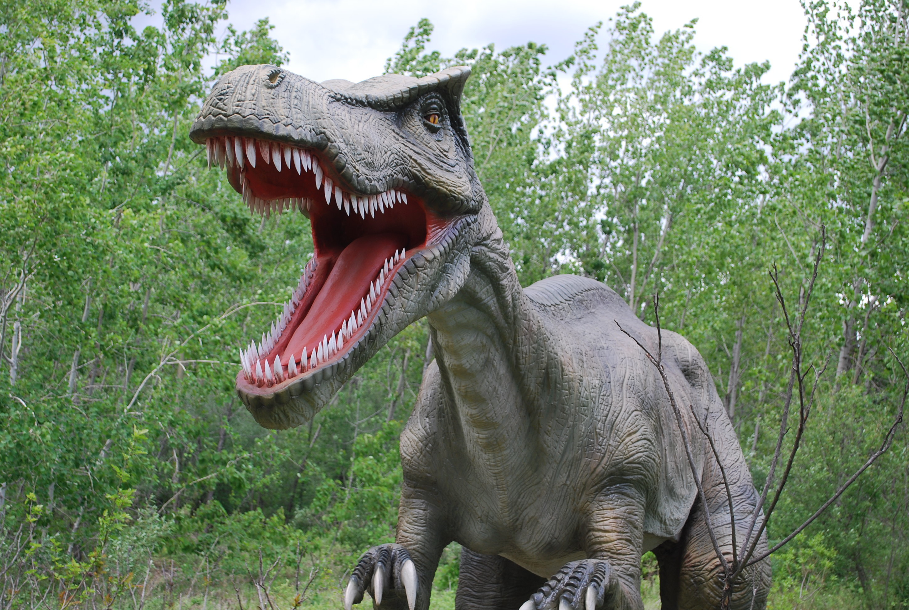 Walk among prehistoric creatures at Field Station: Dinosaurs