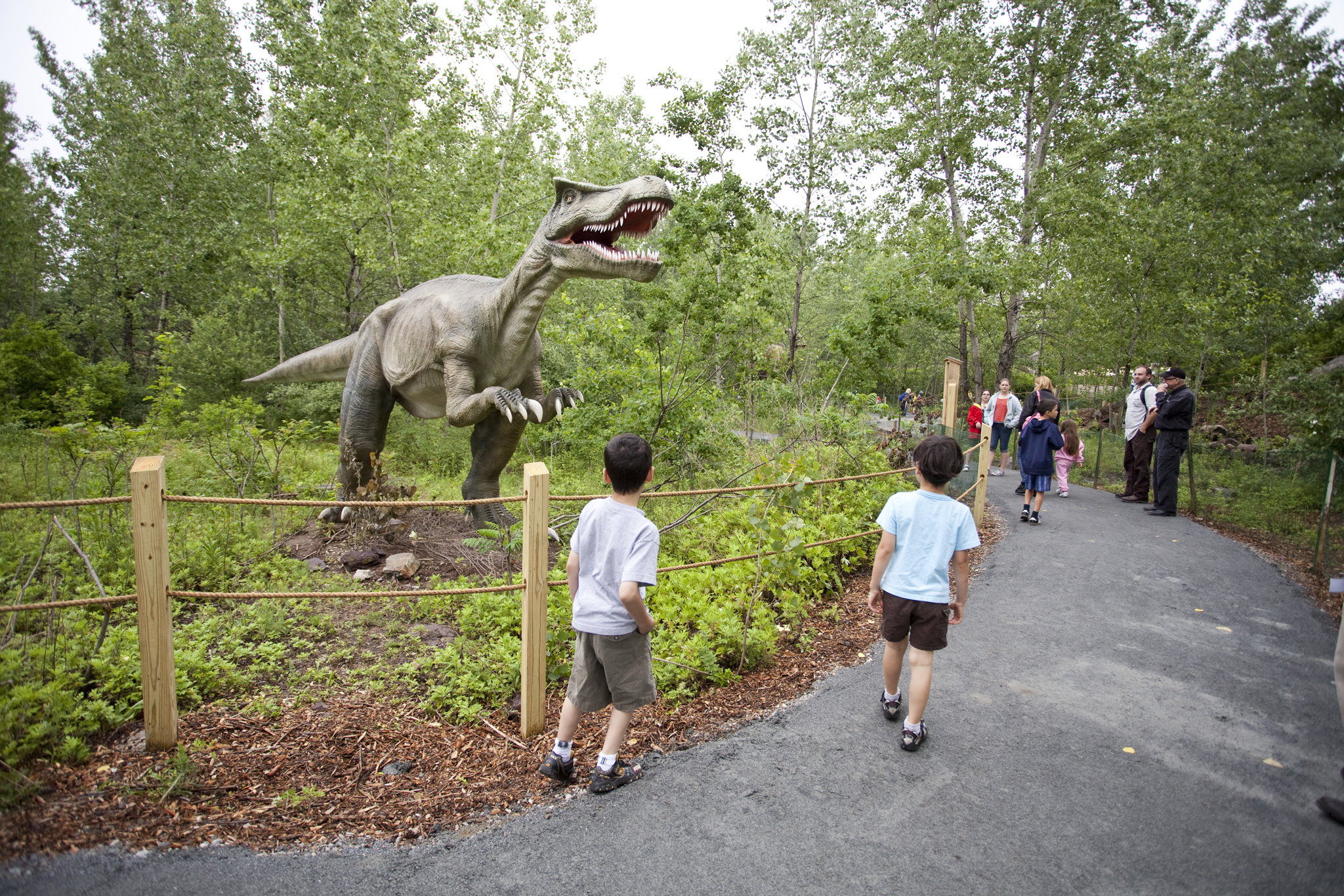 Visit Field Station: Dinosaurs in its new location