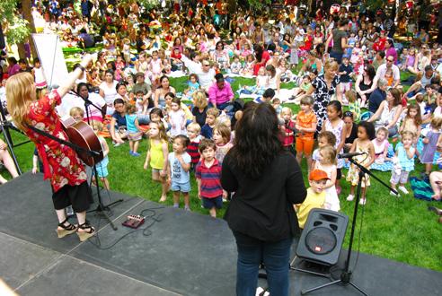 Madison Square Park Kids Concerts