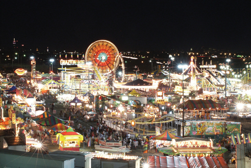 Eat fried dough and see the sites at State Fair Meadowlands