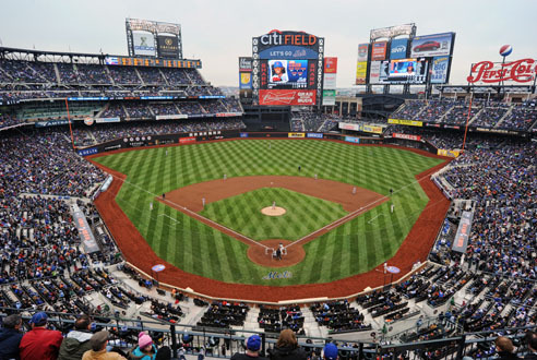 Catch a baseball game at an NYC stadium