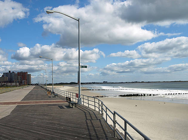 Rockaway Beach And Boardwalk Attractions In Rockaways