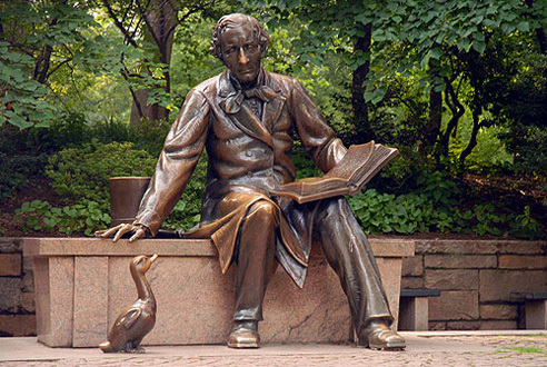 Hans Christian Andersen Statue at Conservatory Water