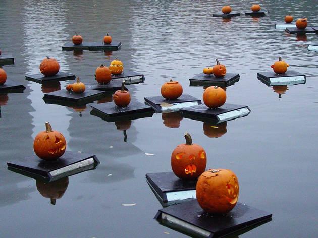 Halloween Parade and Pumpkin Sail