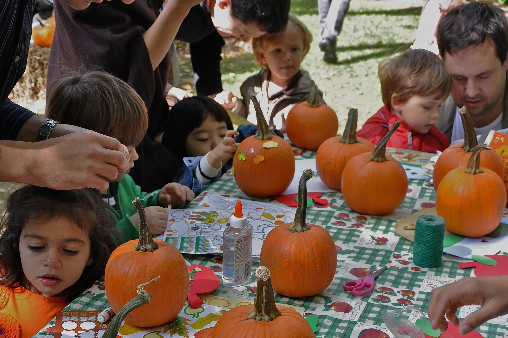 Jefferson Market Garden Children's Harvest Festival