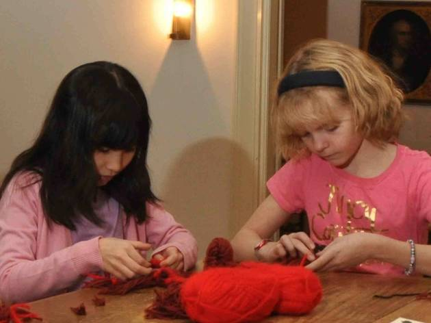 Knit at the Museum