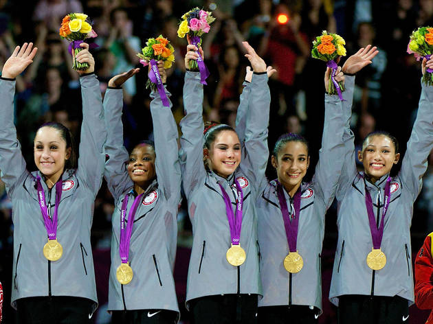 Marvel at the 2012 U.S. Women's Olympic team