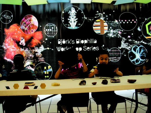 Björk's Biophilia workshops